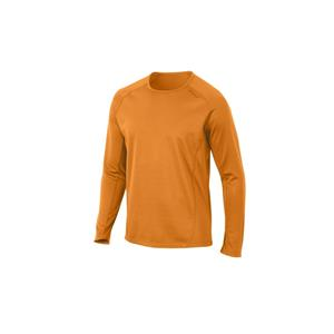 2XU Men's Ignite L/S Running Top - Orange - Men's Medium