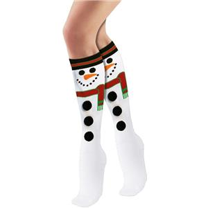 Forum Novelties Adult Snowman Christmas Fun Holiday Socks