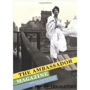 3 NEW The Ambassador Magazine: Promoting Post-War British Textiles & Fashion -A