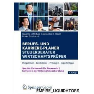 6 NEW GERMAN EDITION Berufs-und Karriere-Planer Steuerberater Wirtschaftsprüfer: