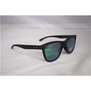 Oakley Women's Moonlighter Matte Black W/ Jade Iridium Polarized