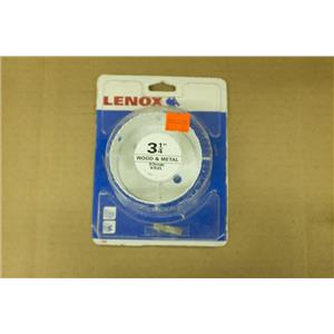 "Lenox 3-1/4"" Wood and Metal 83mm K52L Hole Saw 12185"