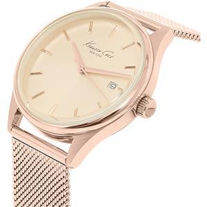 Kenneth Cole 10029400 Ladies Rose Gold Tone Fashion Elegance Watch