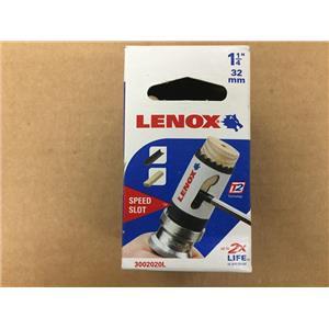 """Lenox 30020 20L, 1-1/4"""" (32mm) Bi-Metal Speed Slot Hole Saw"""