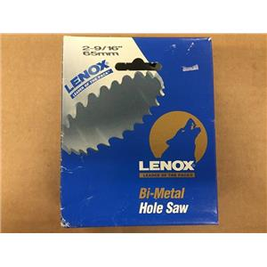 """Lenox 30041 41L 2-9/16"""" 65mm Bi-Metal Hole Saw"""