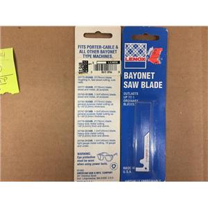 """LENOX BAYONET SAW BLADE 20766-S134B 1-3/4"""" (45MM) BLADE, HEAVYDUTY METAL CUTTING"""