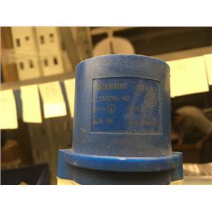 Bticino Straight mobile plug 16A 230V 2P+T 50-60Hz blue CSM216/42