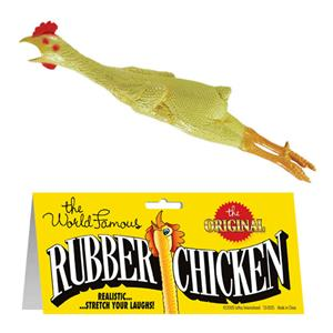 World Famous Rubber Chicken Comedy Prankster Prop