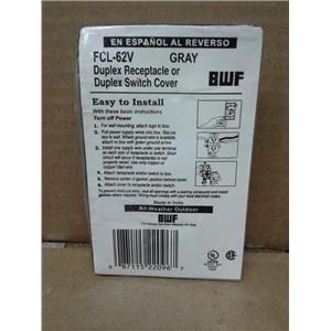 Bwf FCL-62V Duplex Receptable or Duplex Switch Cover