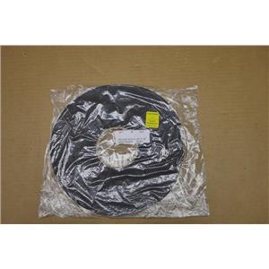 """P8112 (SC 42-UL) x .50"""" x 50' Roll of Rubber Foam Stripping Weatherstrip"""