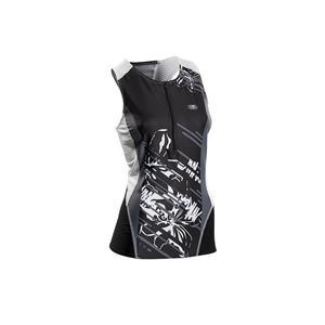 Sugoi Women's RPM Tri Tank (Print) - Black / white - Women's Medium