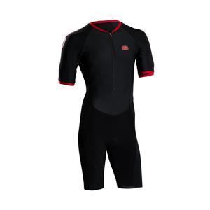 Sugoi Men's RS Tri Speedsuit - Black / Red - Men's Large