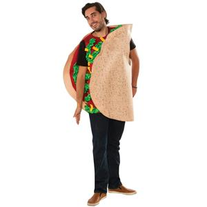 Fiesta Taco Unisex Funny Halloween Party Tunic Adult Costume
