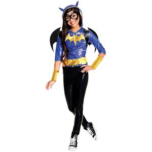 Rubies Costume Kids DC Superhero Girls Deluxe Batgirl Costume Small 4-6