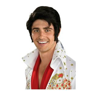 Signature Elvis Now Costume Wig with Sideburns 51789