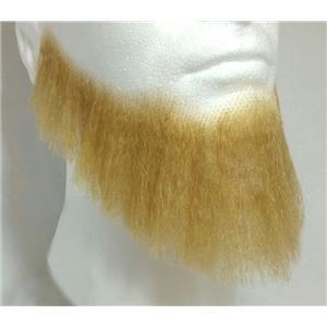 Blonde Human Hair Full Character Professional Costume Beard 2024