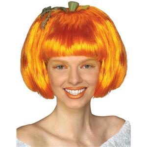 Orange Pumpkin Spice Candy Corn Wig
