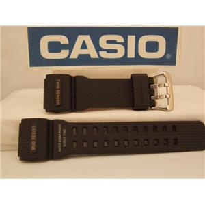 Casio Watch Band GG-1000 Mud Resist Twin Sensor MudMaster Strap Black Resin