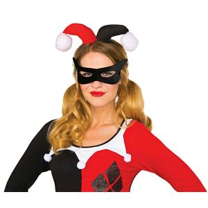 DC Comics Harley Quinn Eye Mask and Headpiece Costume Kit