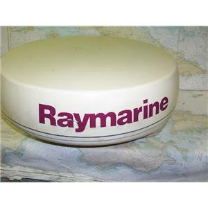 "Boaters Resale Shop of TX 1702 1722.01 RAYMARINE M92652-S 4KW 24"" RADOME ONLY"