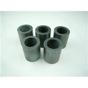 "5 Graphite 6 oz Crucibles Mini Propane Fast Furnace Melting Gold 1-1/2""x1-3/4"""