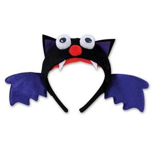 Beistle Black Bat Halloween Fun Character Creature Headband Costume Accessory