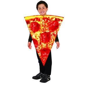Forum Novelties Childrens Pizza Slice Foam Tunic Costume