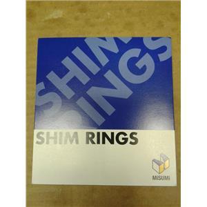Misumi PCIMRS3-8-0.1 Shim Rings (Pack Of 30)