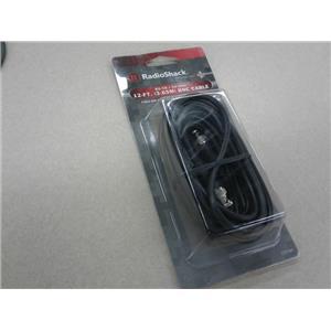 Radioshack RG-58 50-0Hm 12-Ft. Bnc Cable Nib