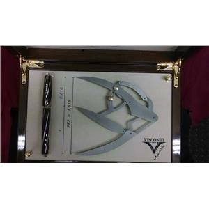 Visconti Divina Proporzione 23k Palladium M Nib Mint and Complete