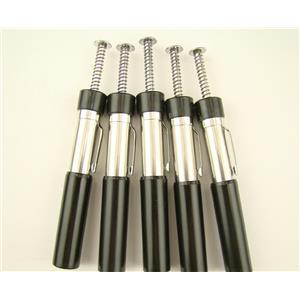 Lot of 5 Pocket Black Sand Magnetic Separator-Clean up-Mining Gold Panning