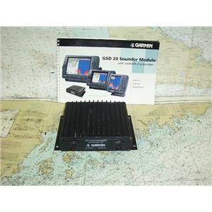 Boaters Resale Shop of TX 1702 1144.82 GARMIN GSD 20 REMOTE SONAR SENSOR ONLY