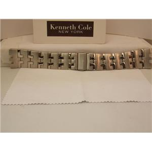 Kenneth Cole Watch Band KC3368 Bracelet Steel Silver Color. Watchband W/Pins