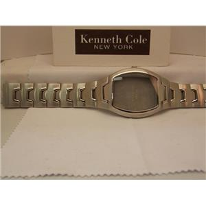Kenneth Cole Watch Band KC3384 Including Case and Glass Crystal. All steel