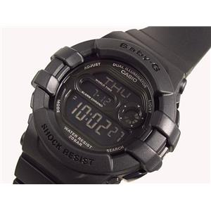 Casio Watch BGD140 -1,BGD-140 All Black Baby G.New Boxed w/ Warranty/Instruction