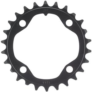 Truvativ X0/X9 alloy 2x10sp ring, 80BCD x 28t - blk
