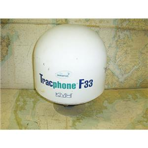 Boaters Resale Shop of TX 1705 1154.14 KVH F33 TRACPHONE SATELLITE PHONE DOME