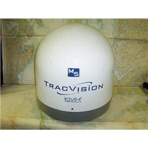 Boaters' Resale Shop of TX 1705 1141.01 KVH M5 TRACVISION SATELLITE TV DOME ONLY