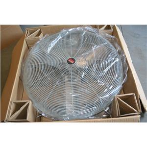 "Dayton 3PEG9D 36"" Industrial Air Circulator Fan, 12600 CFM Hi, 8100 CFM Lo, 115V"