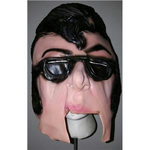 Bobby Rocker Chinless Vinyl Mask Rockabilly 50s Greaser