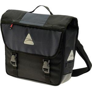 Axiom Racebook Pro Pannier Black/Grey Laptop Bag (Single)