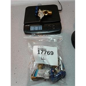 """Waxman 04-012 Brass Threaded Boiler Drain, Male IPS X Male Hose, 3/4"""""""