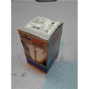LEVITON 70520-P 2 Pole, 20 Amp, 125 Volt, Nylon Locking Plug, Red