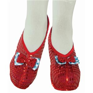 Farm Girl Shoe Covers Dorothy Costume Accessory