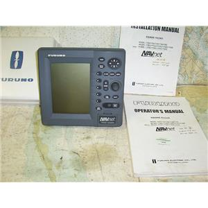 Boaters Resale Shop of TX 1705 0775.11 FURUNO RDP-130 RADAR NAVNET LCD DISPLAY