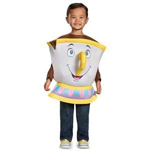 Disney's Beauty and the Beast Chip Deluxe Toddler Costume for Kids up to Size 6