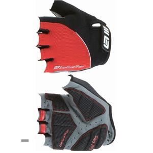 Bellwether Gel Flex Short Finger Glove: Ferrari Red Small