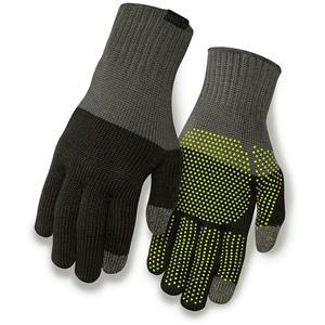 Giro Knit Merino Gloves Adult Black / Grey Cycling Touch Screen Technology L/XL