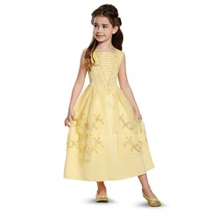 Disney Beauty and the Beast Belle Ball Gown Classic Child Costume Size 3T-4T
