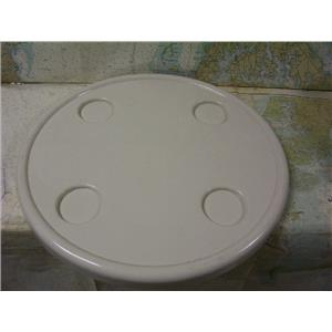 "Boaters Resale Shop of TX 1706 1155.31 ERWIN COLE 22"" ROUND TABLE TOP ONLY"